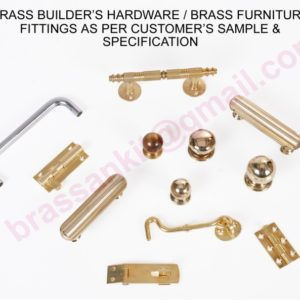Brass Builder's Hardware